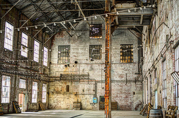 Clarksburg Photograph - Inside The Old Sugar Mill by Diego Re