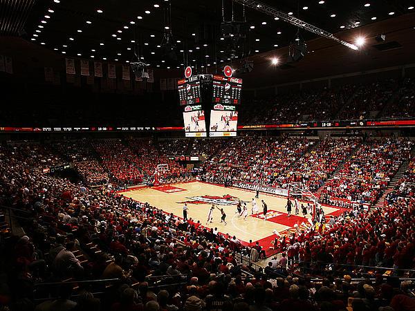 Hilton Coliseum Photograph - Iowa State Cyclones James H. Hilton Coliseum by Replay Photos