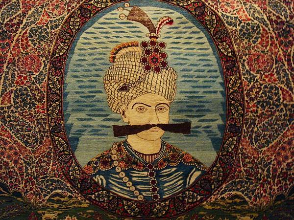 Carpet Photograph - Iran King Abbas Carpet Museum Tehran by Lois Ivancin Tavaf