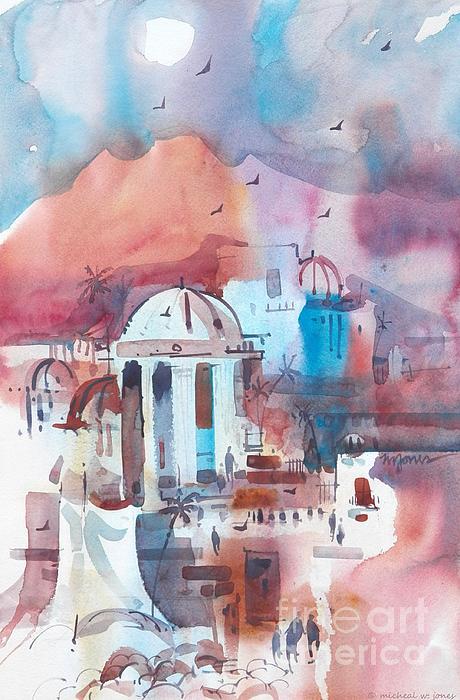 Italy Painting - Italiana by Micheal Jones
