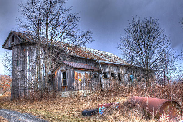 Barns Photograph - Ive Seen Better Days by David Simons