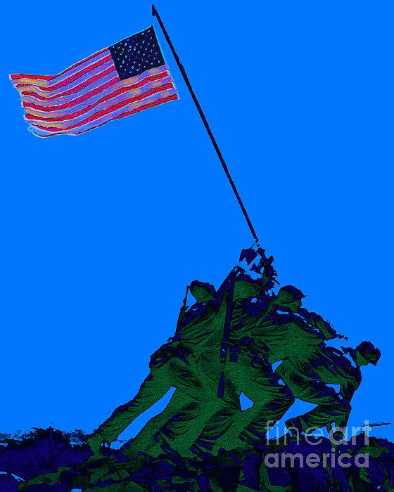 Iwo Jima Photograph - Iwo Jima 20130210m88 by Wingsdomain Art and Photography
