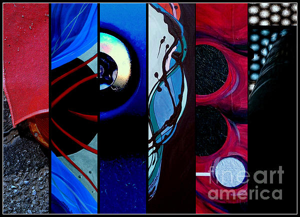 Abstract Photography Painting - j HOT 27 by Marlene Burns