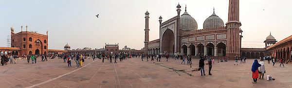 Jama Masjid Mosque, New Delhi, India Photograph by George Pachantouris