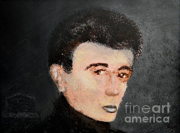 James Dean Painting - James Dean by Alys Caviness-Gober
