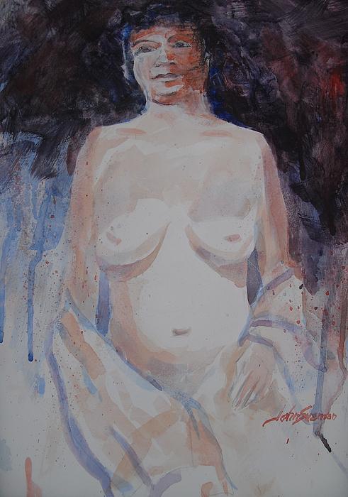 John Svenson Painting - Jane by John  Svenson