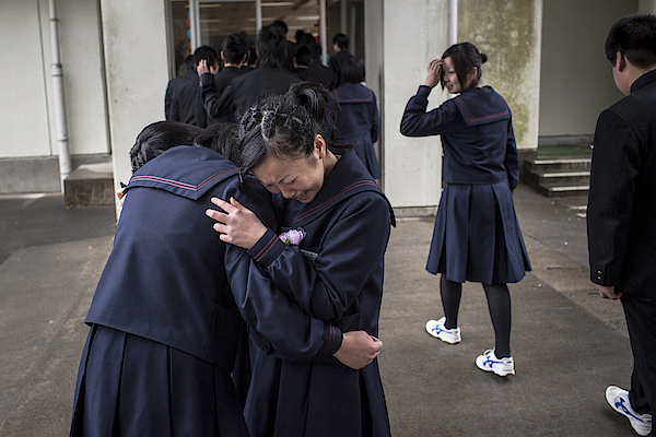 Japan Prepares To Mark One Year Anniversary Of Earthquake And Tsunami Photograph by Daniel Berehulak