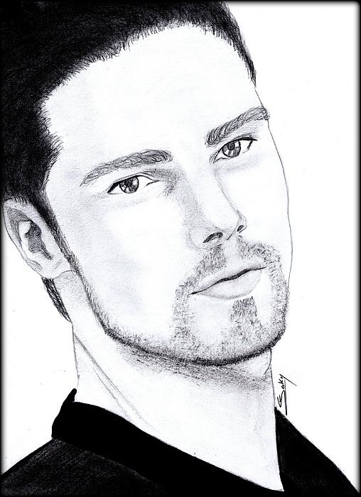 Actor Painting - Jay Ryan - Beauty And The Beast by Saki Art