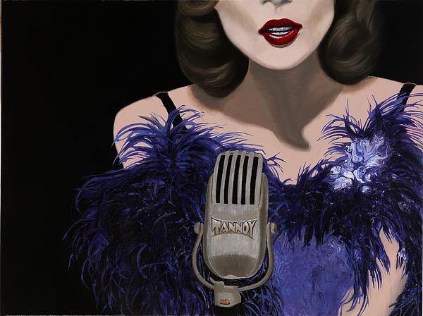 Jazz Painting - Jazz by Marcella Lassen