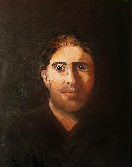 18x24 Painting - Jeff by Ferid Sefer