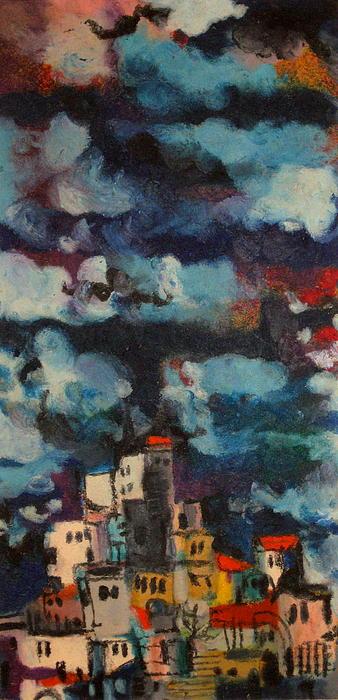 Jerusalem Light Painting by Moshe BenReuven
