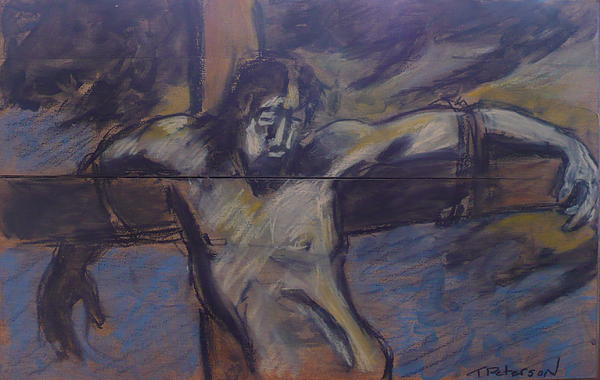Painting Painting - Jesus Remember Me by Todd  Peterson