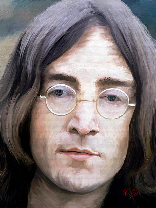 Impressionism Painting - John Lennon by James Shepherd