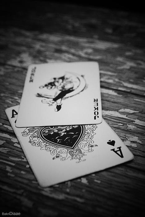 Cards Photograph - Joker by Diaae Bakri