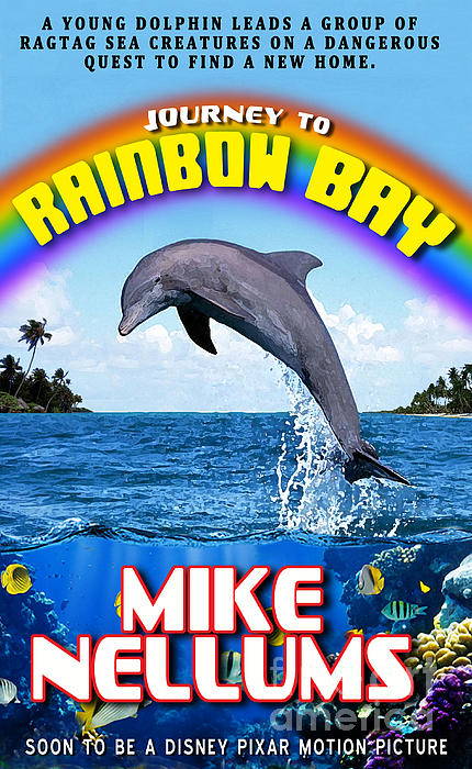 Book Jacket Design Photograph - Journey To Rainbow Bay by Mike Nellums