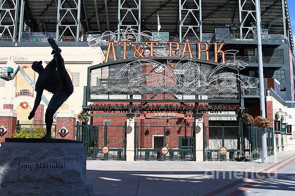 Sport Photograph - Juan Marichal At San Francisco Att Park . 7d7640 by Wingsdomain Art and Photography