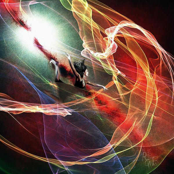 Jump Mixed Media - Jump Into Life by Reno Graf von Buckenberg