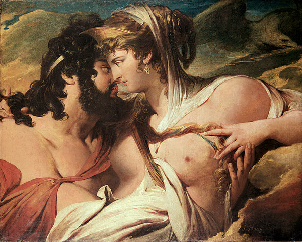 Hera Painting - Jupiter And Juno On Mount Ida by James Barry