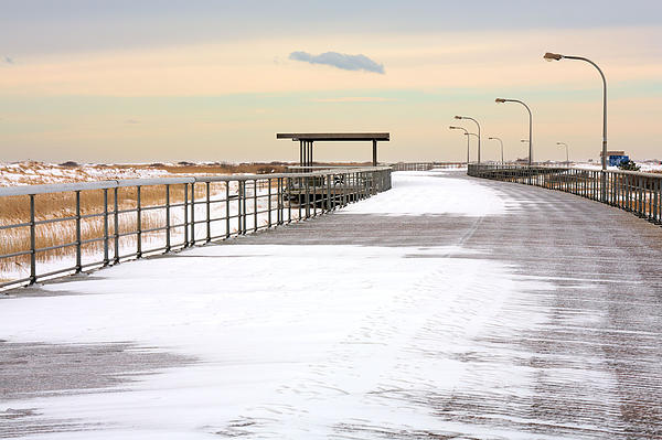 Just Another Boardwalk Photograph - Just Another Boardwalk by JC Findley