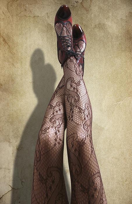 Beautiful Photograph - Just Legs by Svetlana Sewell