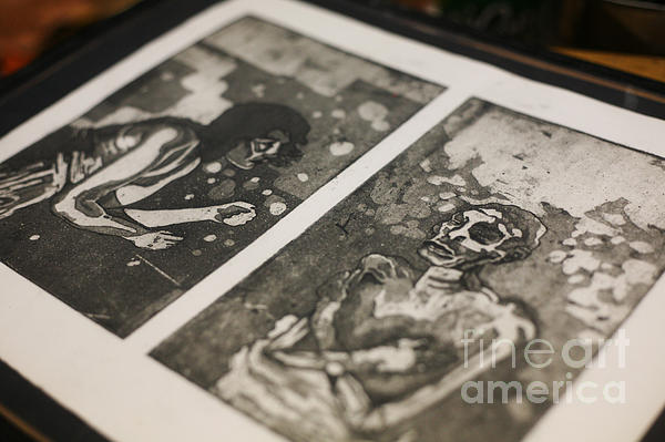 Printmaking Photograph - K Double-you A by J Ethan Hopper