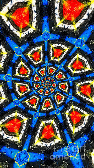 Abstract Photograph - Kaleidoscope Of Primary Colors by Amy Cicconi