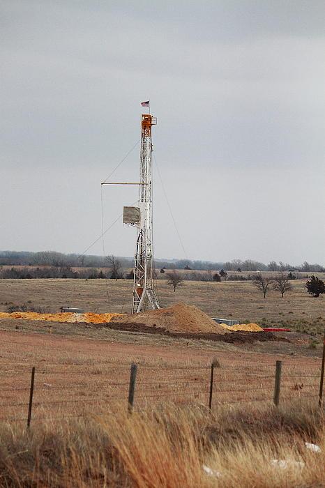 Oil Photograph - Kansas Pride by Jason Drake