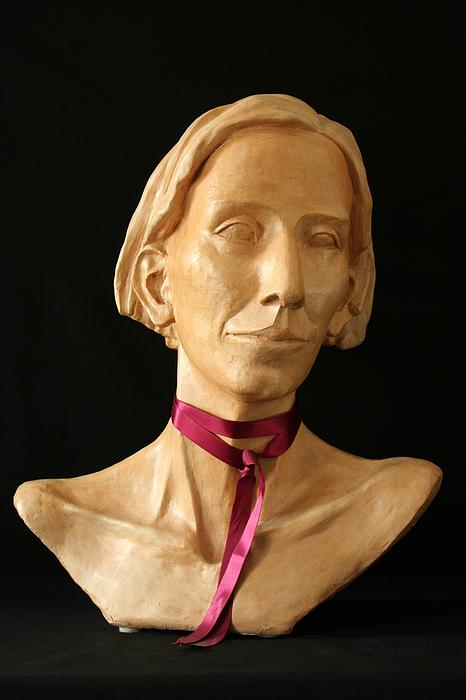 Portrait Sculpture Sculpture - Katherine by Flow Fitzgerald