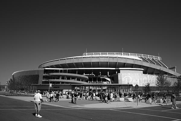 American Photograph - Kauffman Stadium - Kansas City Royals 2 by Frank Romeo