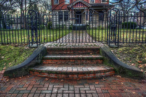 Gate Photograph - Keep Out by Tim Buisman