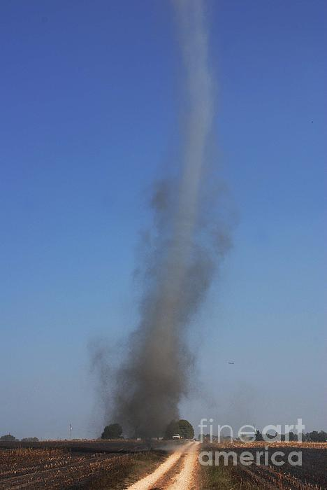 Dust Devil Photograph - Kentucky Dust Devil by Steven Townsend