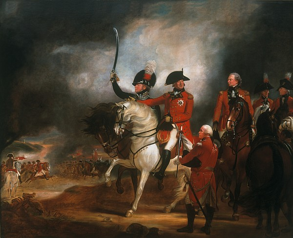 Royal Painting - King George IIi And The Prince Of Wales by Sir William Beechey