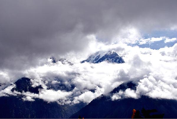 Hills Photograph - Kinner Kailash Hills- Himachal Pradesh- Viators Agonism by Vijinder Singh