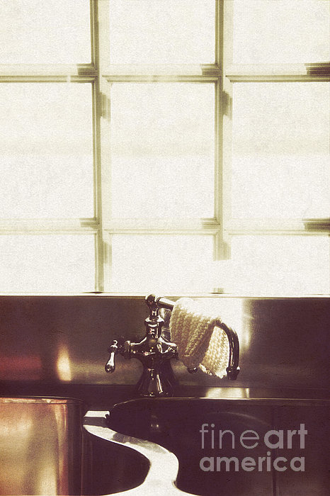 House Photograph - Kitchen Sink by Margie Hurwich