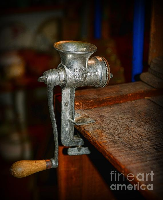 Paul Ward Photograph - Kitchen - The Meat Grinder by Paul Ward