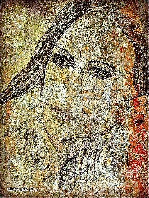 La Beaute Painting by Farfallina Art -Gabriela Dinca-