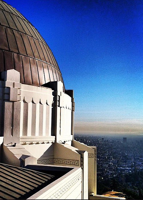 Los Angeles Photograph - La Griffith Observatory Afternoon by Gabe Arroyo