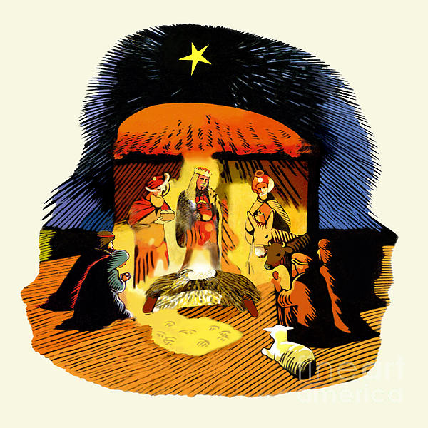 Che Guevara Digital Art - La Natividad by Roger Kohn