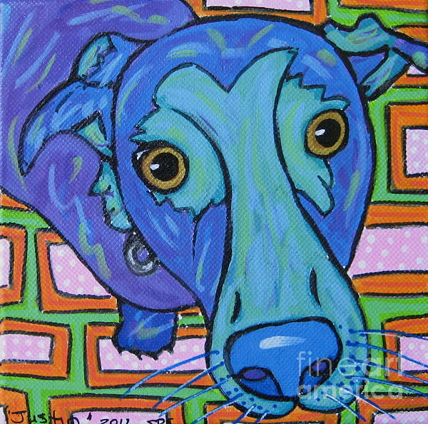 Dog Painting - Labrador  by Susan Sorrell