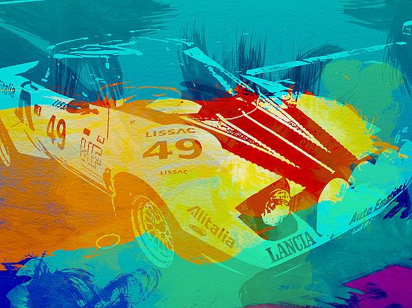 Stratos Painting - Lacia Stratos Watercolor 1 by Naxart Studio