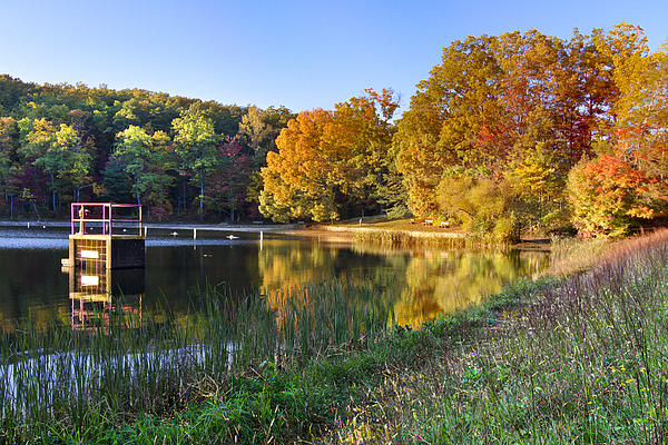 Appalachia Photograph - Lake At Chilhowee by Debra and Dave Vanderlaan