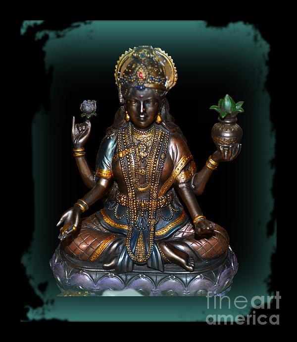 Lakshmi Photograph - Lakshmi Hindu Goddess by Eva Thomas