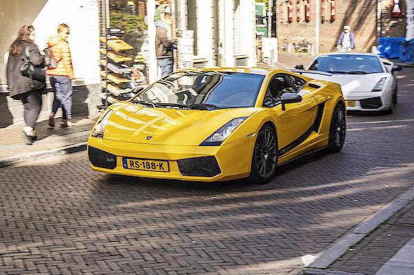 Lamborghini Gallardo Superleggera Sports Car Photograph by Sjo