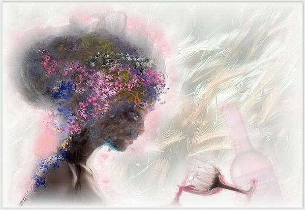 Love Mixed Media - Lamour Perdu by Freddy Kirsheh