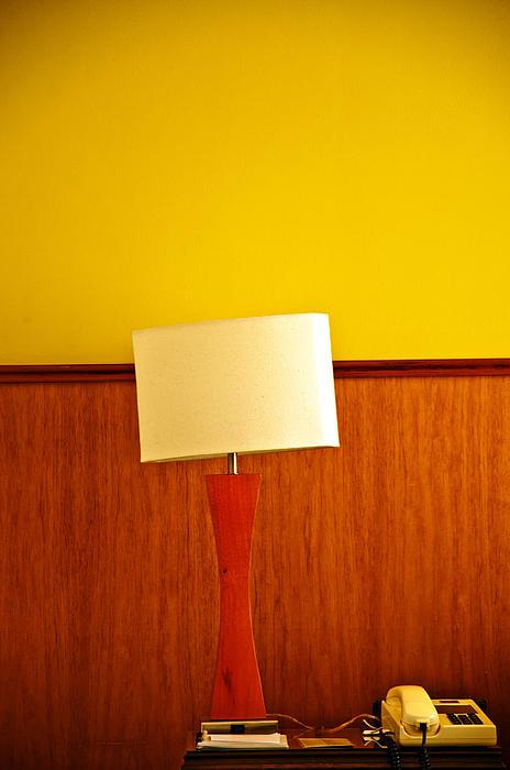 Desk Photograph - Lamp And Desk by Jess Kraft