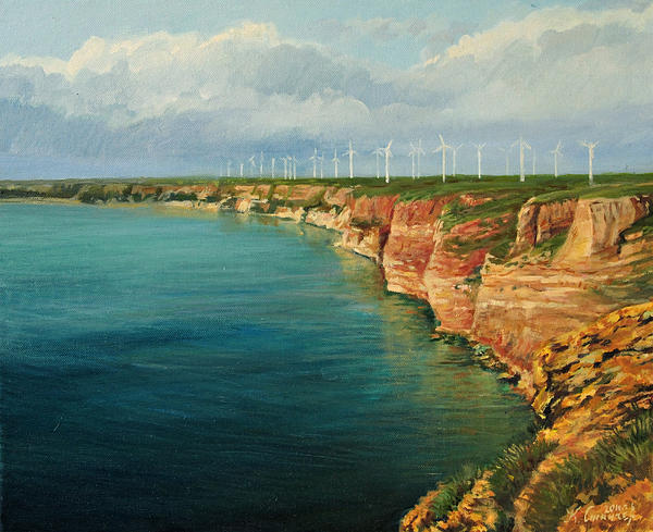 Artistic Painting - Land Of The Winds by Kiril Stanchev