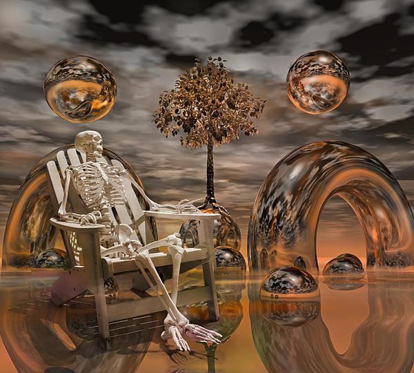 Fantasy Digital Art - Land Of World 86240440 With Sam by Betsy Knapp