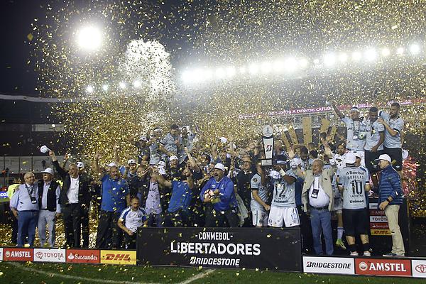 Lanus V Gremio - Copa Conmebol Libertadores 2017 Photograph by Demian Alday