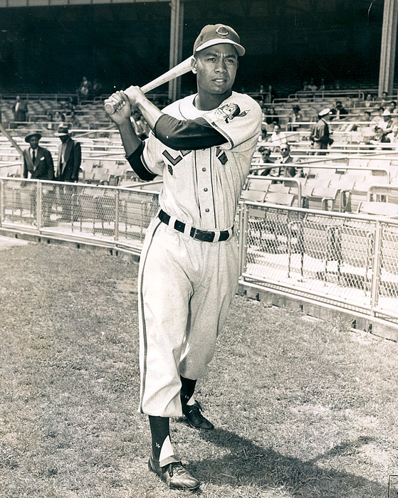 classic Photograph - Larry Doby by Retro Images Archive