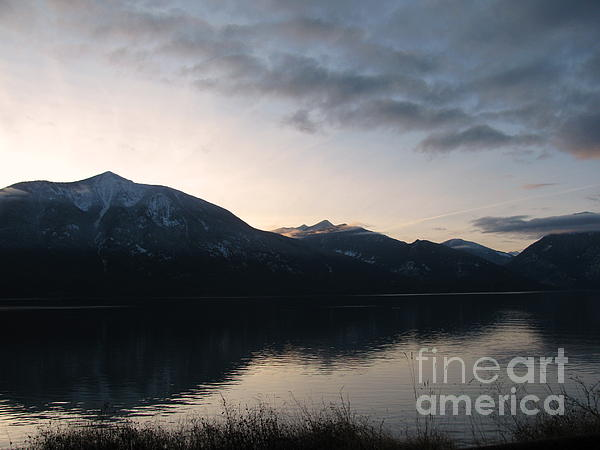 Mountains Photograph - Last Rays by Leone Lund
